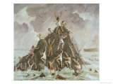 People Engulfed by the Flood Giclee Print by Vittorio Bianchini