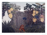 Repast of the Lion Giclee Print by Henri Rousseau