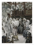 Christ Healing the Withered Hand Giclee Print by James Tissot