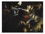 The Taking of Christ Giclee Print by Jean Valentin De Boulogn