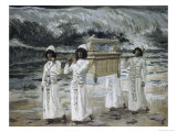 The Ark Passes over the Jordan Giclee Print by James Tissot