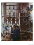 Laboratory of Thos Price Giclee Print by Henry Alexander