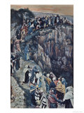 Brow of the Hill Near Nazareth Giclee Print by James Tissot