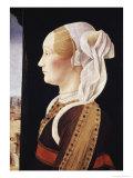 Ginevra Bentivoglio Giclee Print by Ercole de'Roberti