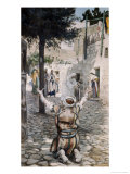 Healing the Leper at Capernaum Giclee Print by James Tissot