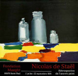 Nature Morte aux Bocaux, c.1955 Collectable Print by Nicolas De Staël
