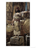 Founder of Two Pillars Hiram Giclee Print by James Tissot