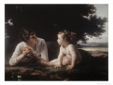 Mother and Child Giclee Print by William Adolphe Bouguereau