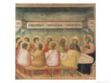The Last Supper Giclee Print by  Giotto di Bondone