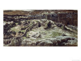 Calvary from the Walls of Herod's Palace Giclee Print by James Tissot