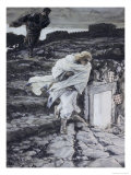 Peter and John Run to the Sepulchre Giclee Print by James Tissot