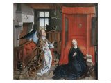 The Annunciation, no.2 Premium Giclee Print by Rogier van der Weyden