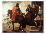 Departure of the Prodigal Son Giclee Print by Bartolome Esteban Murillo