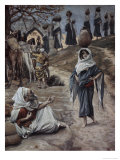 Abraham's Servant Meets Rebecca Giclee Print by James Tissot