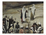 Moses Forbids the People to Follow Him Giclee Print by James Tissot