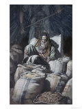 Man Who Laid Up Treasure Giclee Print by James Tissot