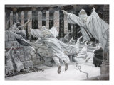 The Dead Appear at the Temple Giclee Print by James Tissot