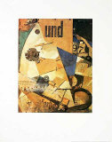 Undbild Collectable Print by Kurt Schwitters