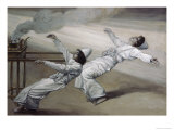 The Two Priests Are Destroyed Giclee Print by James Tissot