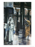 Pharisee and the Publican Giclee Print by James Tissot