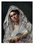 Spanish Dancer Impression giclée par Mary Cassatt