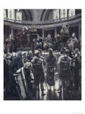 Judgement on the Morning of Good Friday Giclee Print by James Tissot