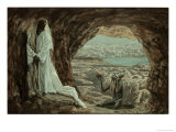Jesus Tempted in the Wilderness Giclee Print by James Tissot