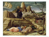 Agony in the Garden Premium Giclee Print by Andrea Mantegna