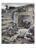 Roman Guards at the Tomb Giclee Print by James Tissot