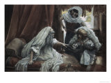 Jacob Deceives Isaac Giclee Print by James Tissot
