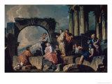 Apostles Preaching Reproduction procédé giclée par Giovanni Paolo Pannini