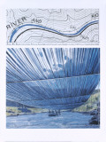 Over The River X: Project for Arkansas River Posters av Christo