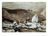 Jesus Goes Up to Jerusalem Giclee Print by James Tissot