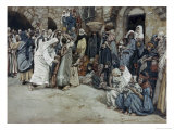 Suffer the Little Children Come Unto Me Giclee Print by James Tissot