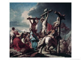 The Crucifixion Giclee Print by Giovanni Battista Tiepolo