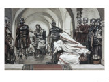 Jesus Led Back from Herod to Pilate Giclee Print by James Tissot