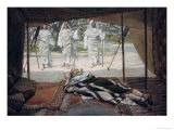 Abraham and the Three Angels Giclee Print by James Tissot