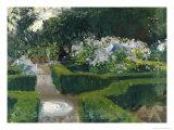 Garden in Granada Giclee Print by John Singer Sargent