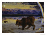 The Scapegoat Premium Giclee Print by William Holman Hunt