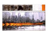 Les portailsXXVII Affiches par  Christo