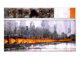 The Gates XXVII Collectable Print by Christo