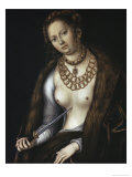 Lucretia Giclee Print by Lucas Cranach the Elder