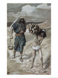 Isaac Bears the Wood For His Sacrifice Giclee Print by James Tissot