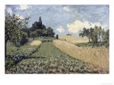 The Cornfield Giclee Print by Alfred Sisley
