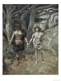 Cain Leadeth Abel to Death Giclee Print by James Tissot