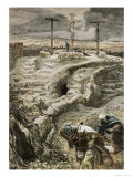 Jesus Alone on the Cross Giclee Print by James Tissot