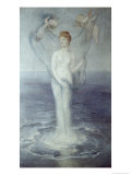Birth of Venus Giclee Print by Arnold Bocklin