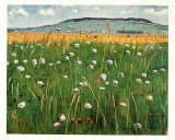 Wiesenstuck, c.1902 Collectable Print by Ferdinand Hodler