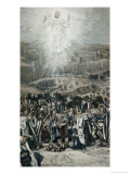 Ascension from the Mount of Olives Giclee Print by James Tissot