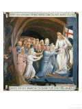 Christ in Limbo, c.1438-1445 Giclee Print by  Fra Angelico